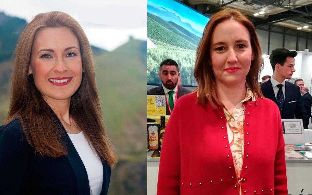 Lara y Adán, las dos nuevas delegadas de la Junta en Jaén