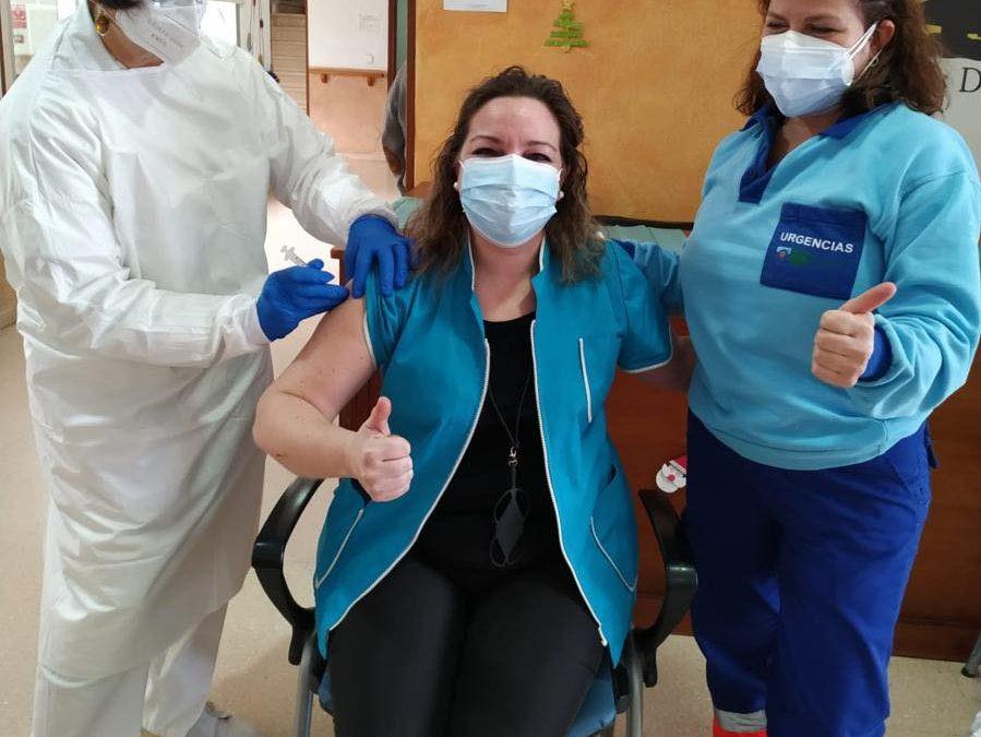 Usuarios y trabajadores de la Residencia ya han recibido la vacuna
