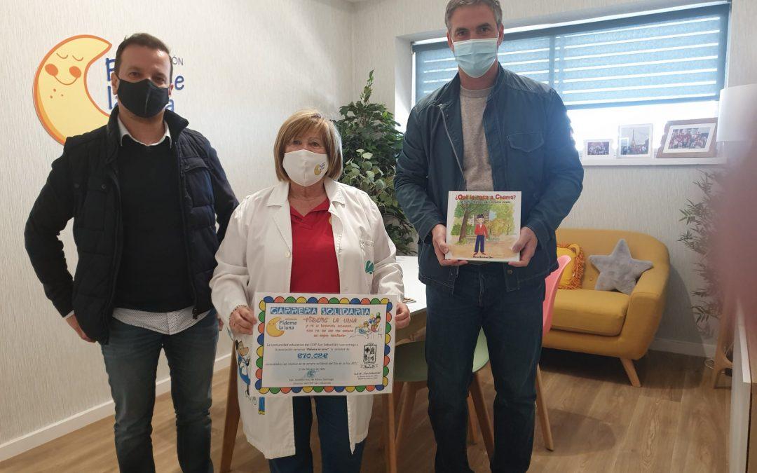 Escolares solidarios contra el cáncer infantil