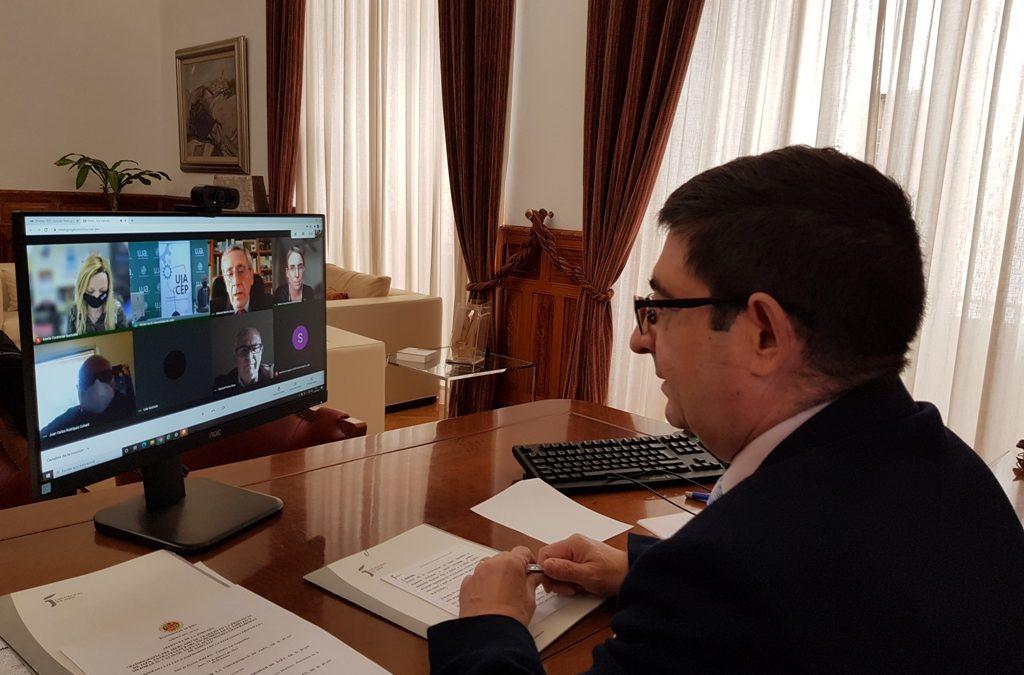 Reyes subraya el compromiso de la Diputación con el empleo