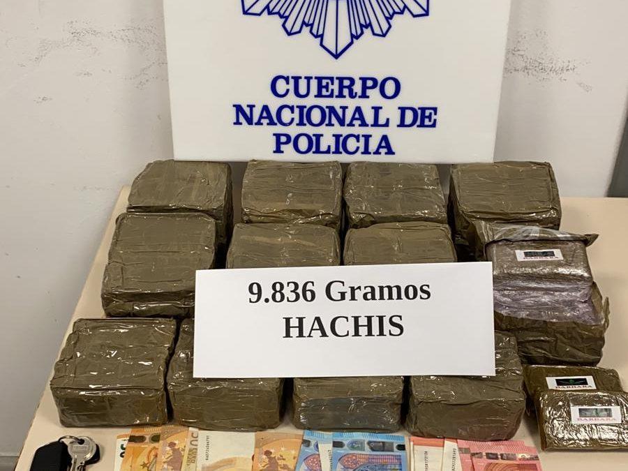 Tres detenidos en una operación policial contra el narcotráfico