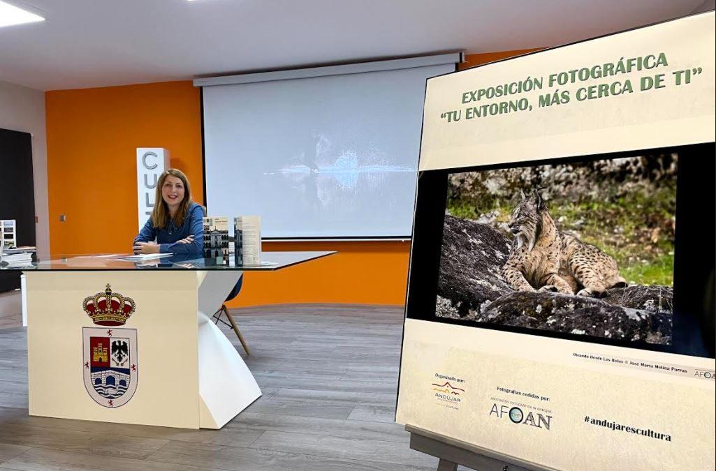 El área de Cultura impulsa, en colaboración con AFOAN, una muestra en los mupis y paneles informativos distribuidos por Andújar