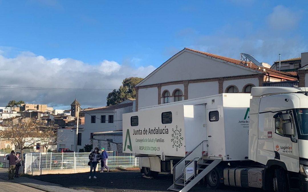 Salud realiza esta semana los cribados en diez municipios de Jaén