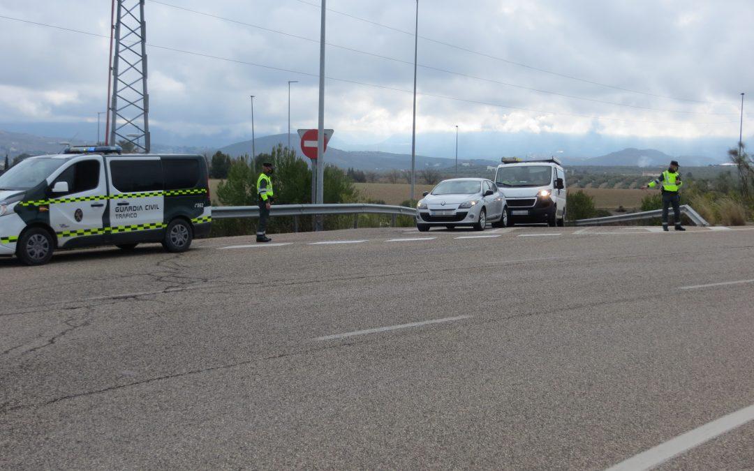 Un conductor detenido y otro investigado por delitos contra la seguridad del tráfico