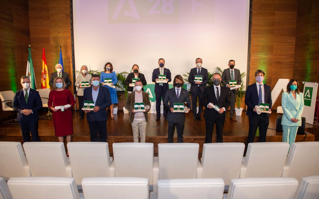 Las Banderas de Andalucía reconocen el talento, la solidaridad y el empuje que atesora Jaén