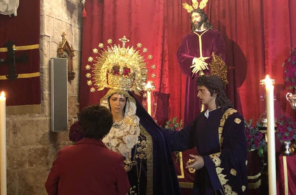 Jamilena veneró a Jesús el Cautivo