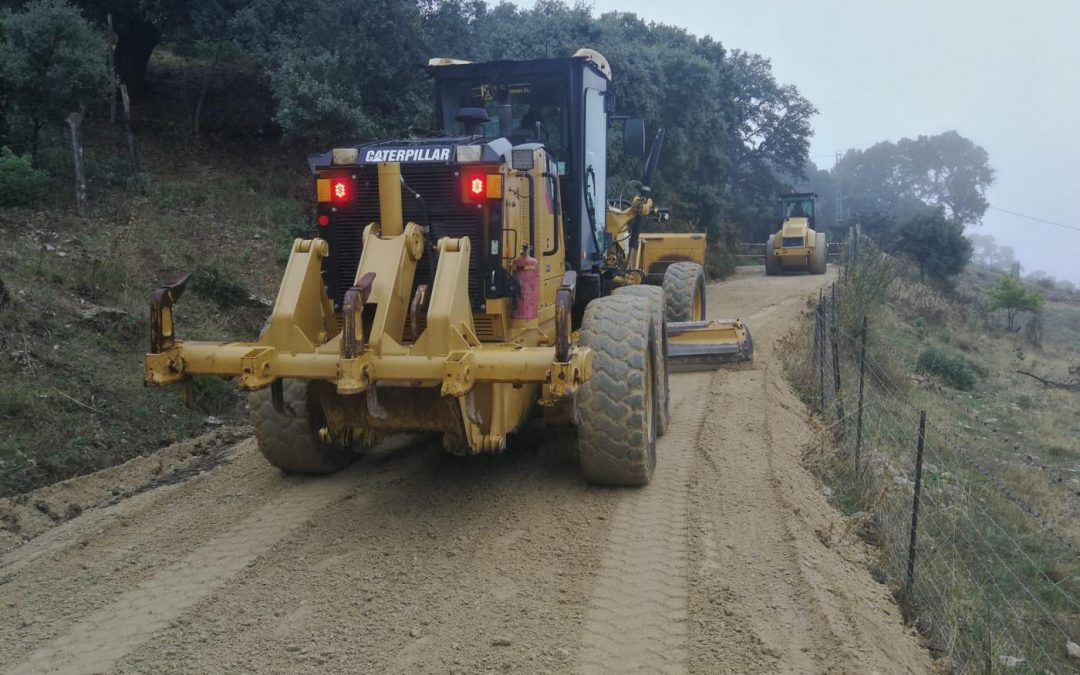 Torredonjimeno arreglará 7,3 kilómetros de caminos rurales