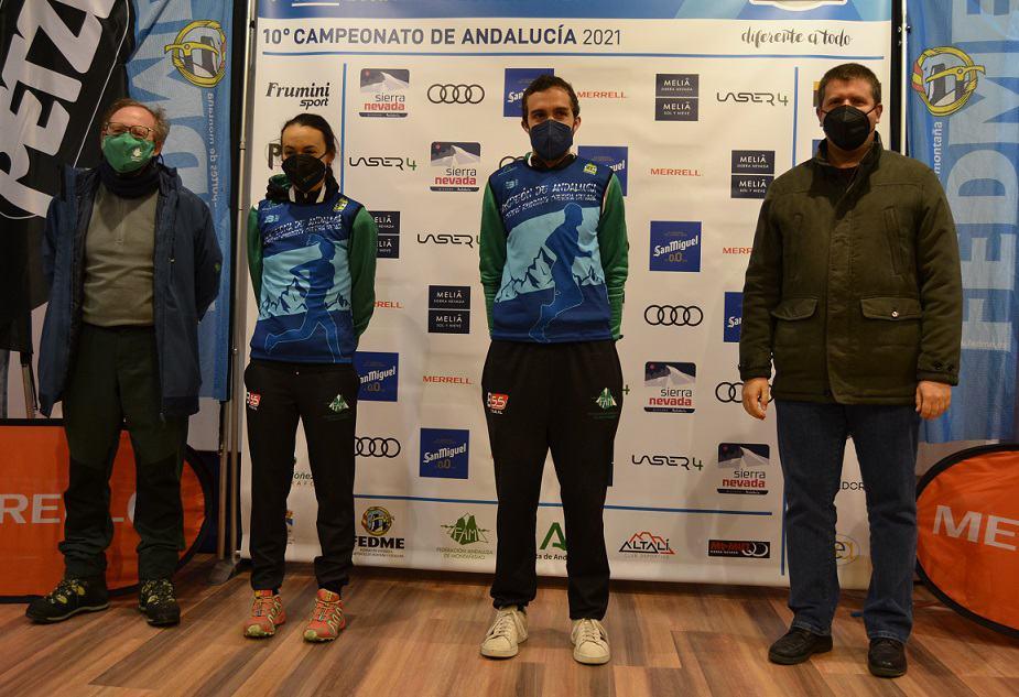 Silvia Lara se proclama Campeona de Andalucía y Subcampeona de España de Snow Running