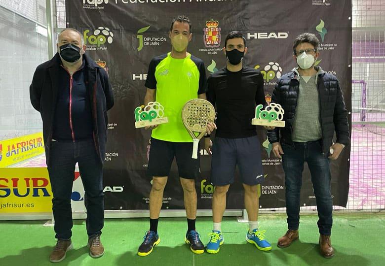 El Campeonato provincial de pádel se vino para Alcaudete