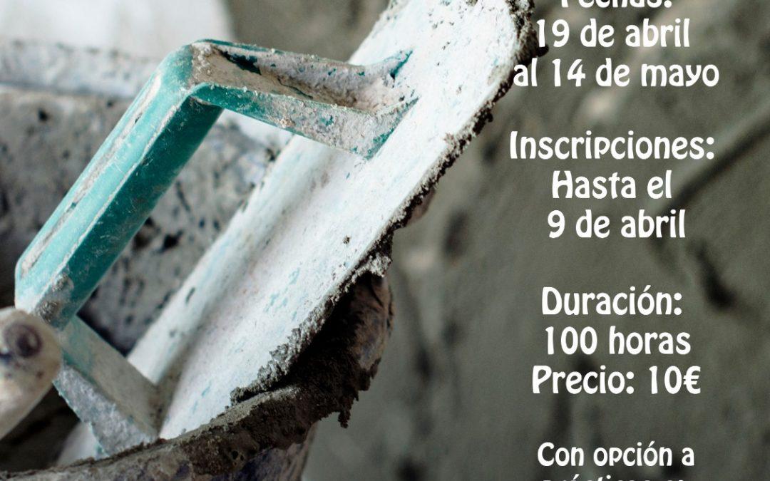 Curso de Albañilería en Alcaudete
