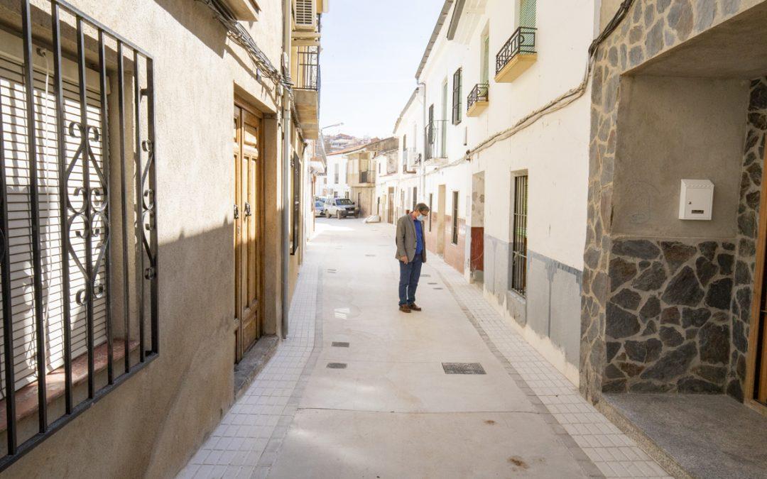 Finalizan las obras de la calle Melojo