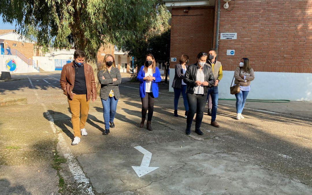 La Carolina invertirá íntegramente los fondos del PFEA en el colegio Manuel Andújar