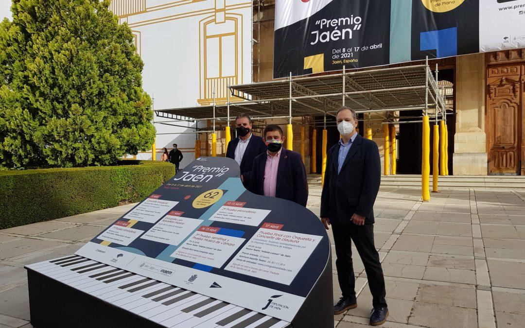 """Récord de inscritos en el 62º Premio """"Jaén"""" de Piano"""