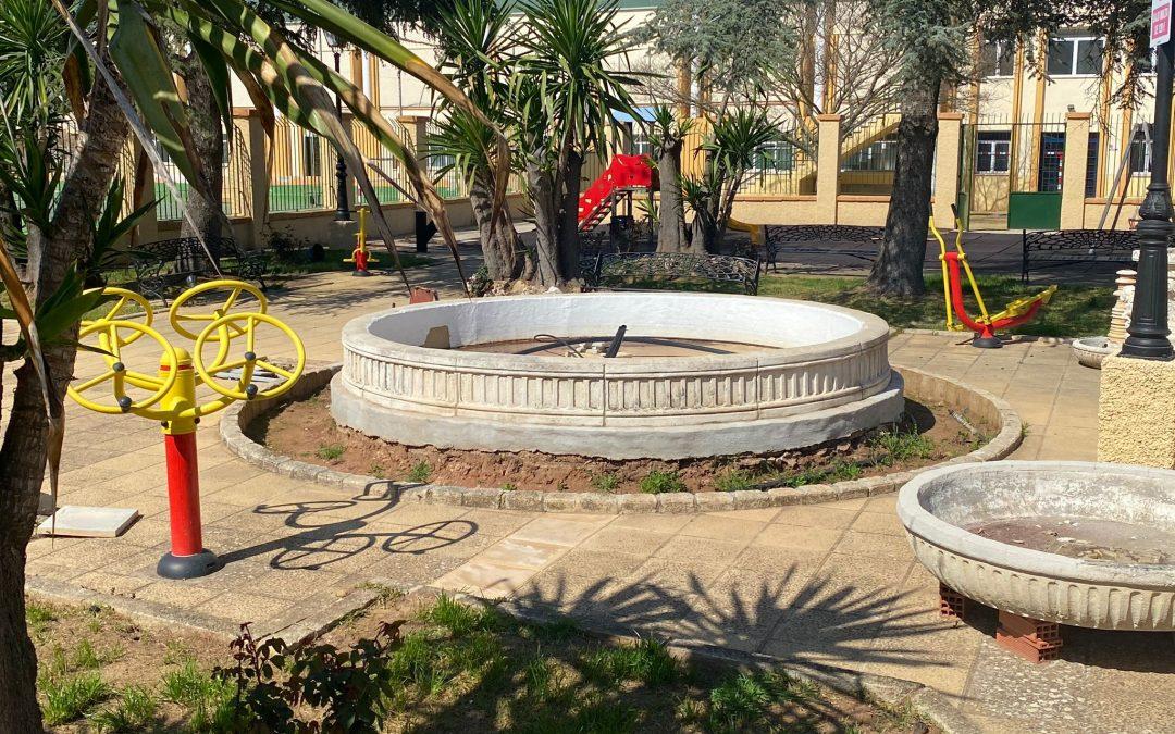 Cambio de imagen para el parque 'Pablo Iglesias'