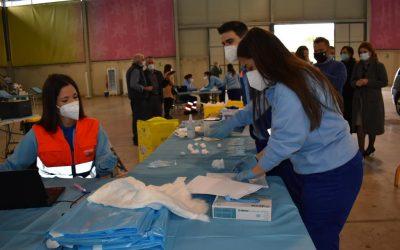 La ciudad de Jaén, con 37 contagios en la última semana, rebaja su tasa a 84
