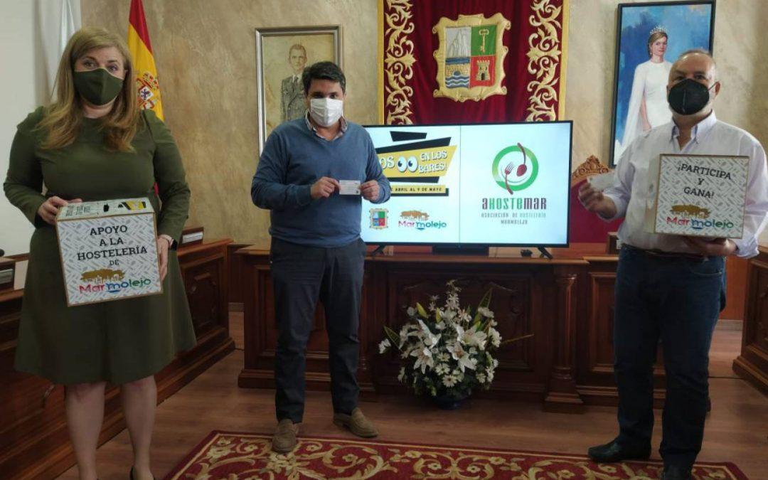 Marmolejo se marca el objetivo de apoyar a comercio y hostelería local