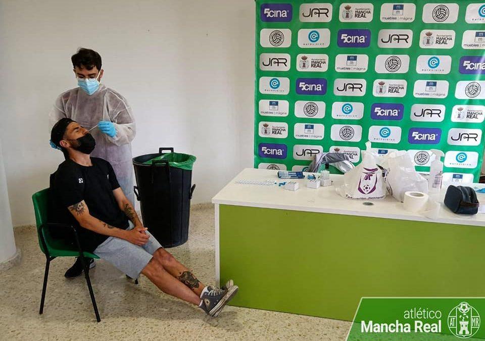 El Atlético Mancha Real somete a test a toda las plantillas por contacto con El Palo