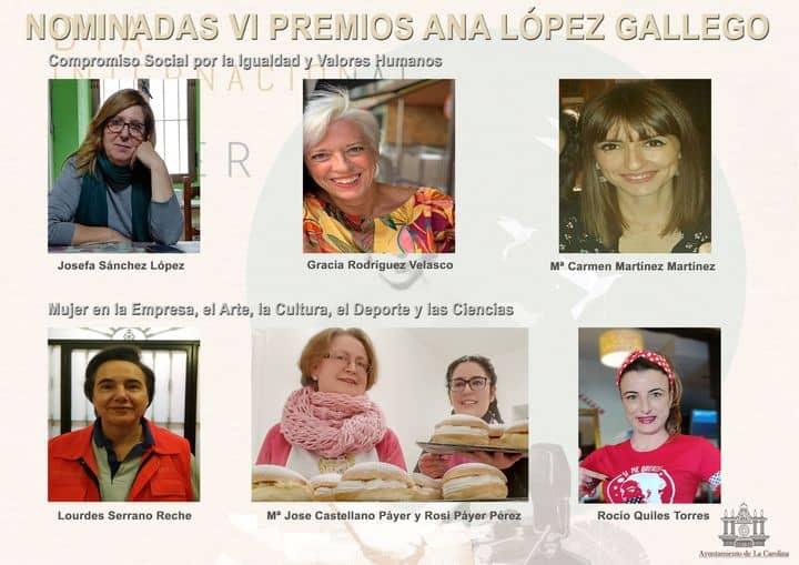 """El Ayuntamiento de La Carolina anuncia las ganadores de los premios """"Ana López Gallego"""""""
