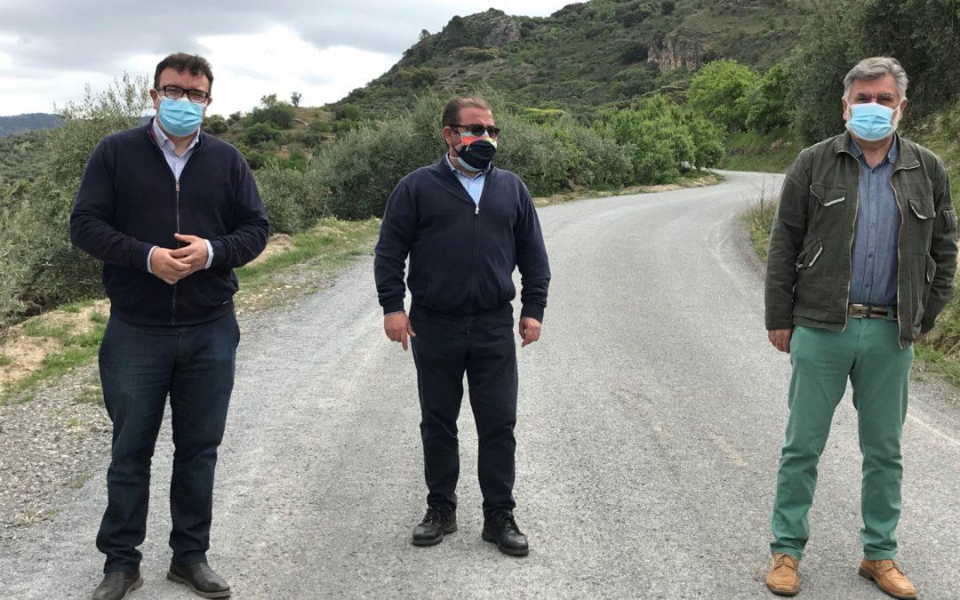Diputación destinó 62.500 euros a la reparación del camino rural La Nava, en Castillo de Locubín
