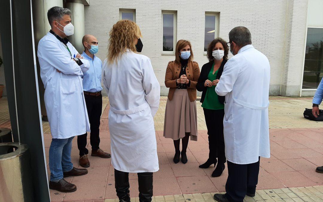 Inversión de cinco millones de euros para el Hospital Alto Guadalquivir de Andújar