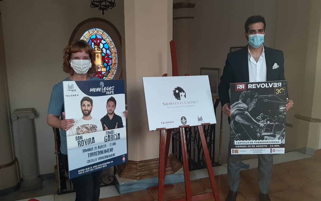 """Revolver, Dani Rovira y Tomás García actuarán en Torredonjimeno con """"Noches en el Castillo"""""""