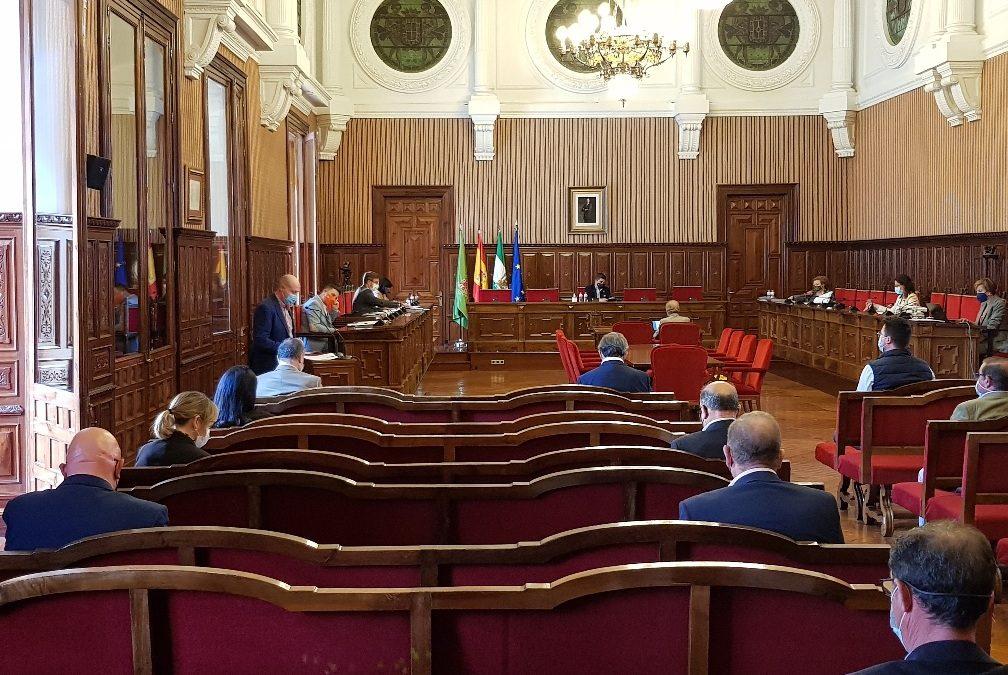 Diputación aprueba la propuesta del Psoe para impulsar un plan de reindustrialización para la Nacional IV