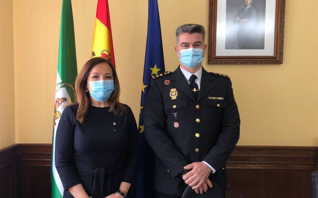 El nuevo comisario provincial del Cuerpo Nacional de Policía en Jaén es Adriano Rubio