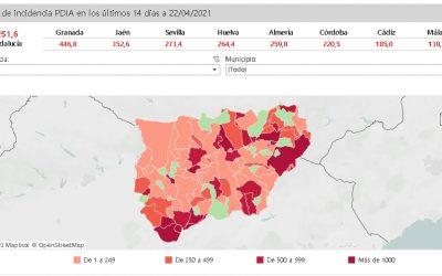 19 municipios de Jaén tendrán vigente el cierre perimetral desde mañana