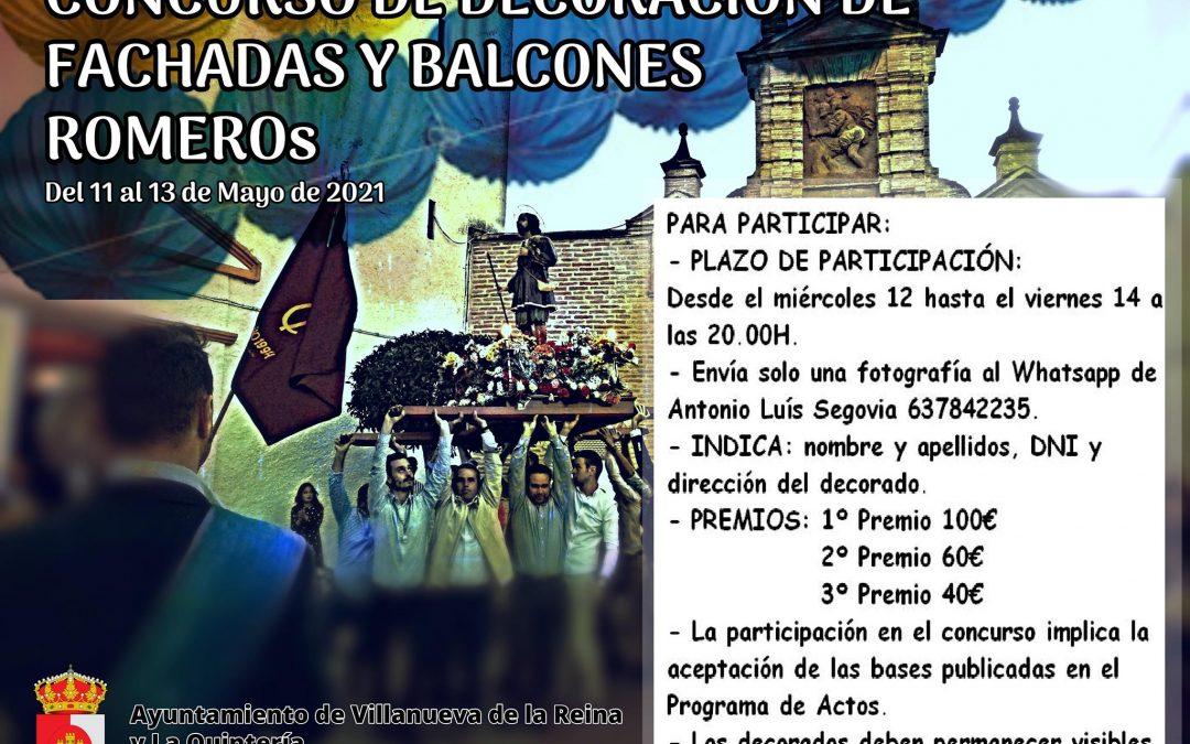 El Ayuntamiento de Villanueva organiza un concurso de decoración de fachadas por San Isidro