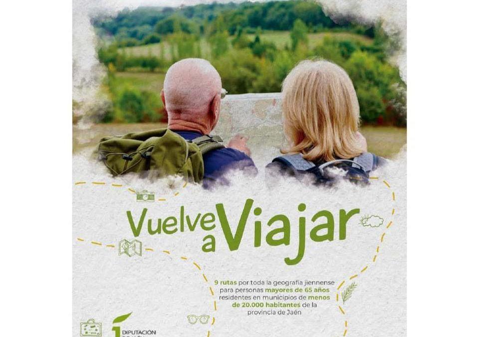 """La Diputación abre una nueva convocatoria para participar en el programa de turismo"""" Jaén sénior+65″"""