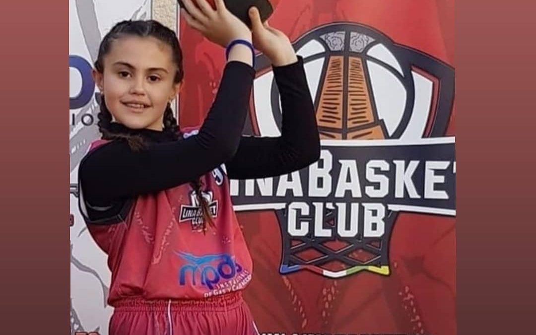 Una linarense, en el Campeonato de España de Minibasket