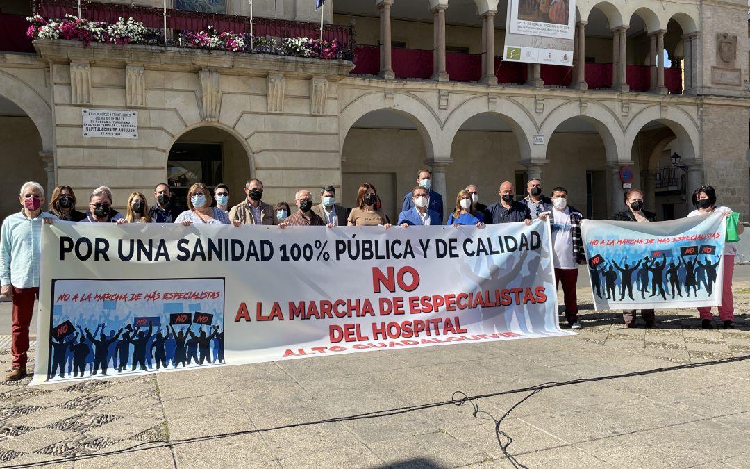 """Alcaldes y representantes municipales de la provincia se vuelven a reunir para denunciar el """"desmantelamiento"""" de los Hospitales pertenecientes a las Agencias Públicas"""
