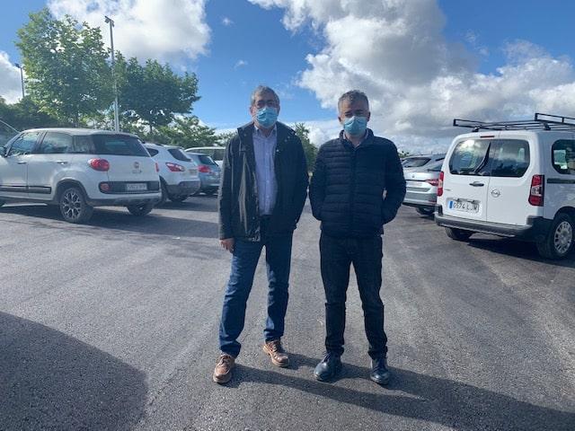 Asfaltado del aparcamiento del Centro de Salud de Martos