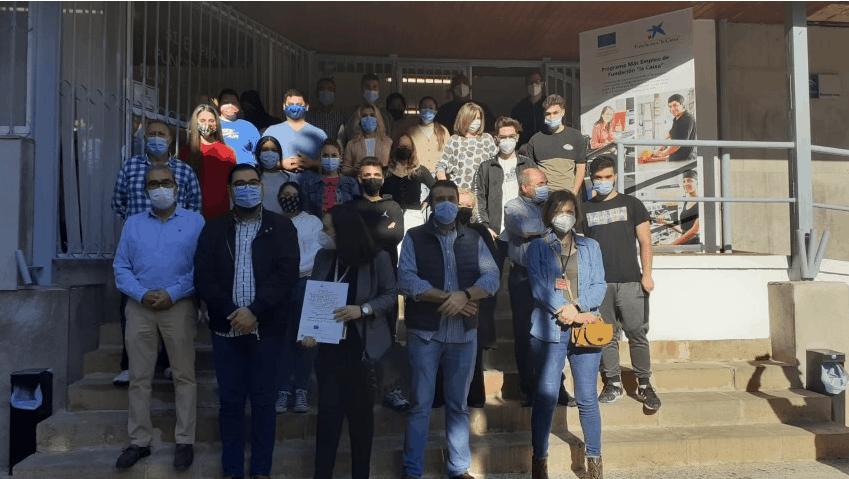 """Martos clausura del curso de """"Premontaje de Carcasas"""""""