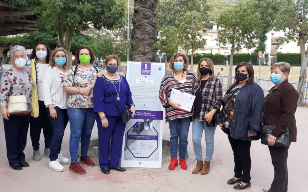 """Las """"Mujeres que dejaron huella"""" llenan las calles de Martos"""