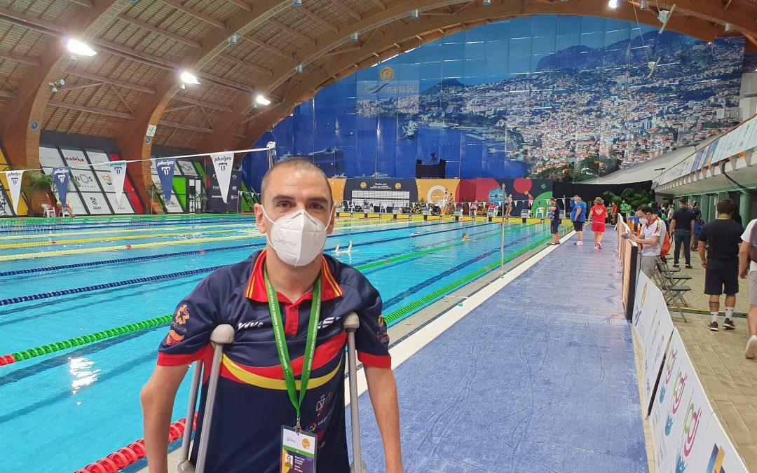 Miguel Ángel logra en Madeira la mínima para Tokio en 50m libre
