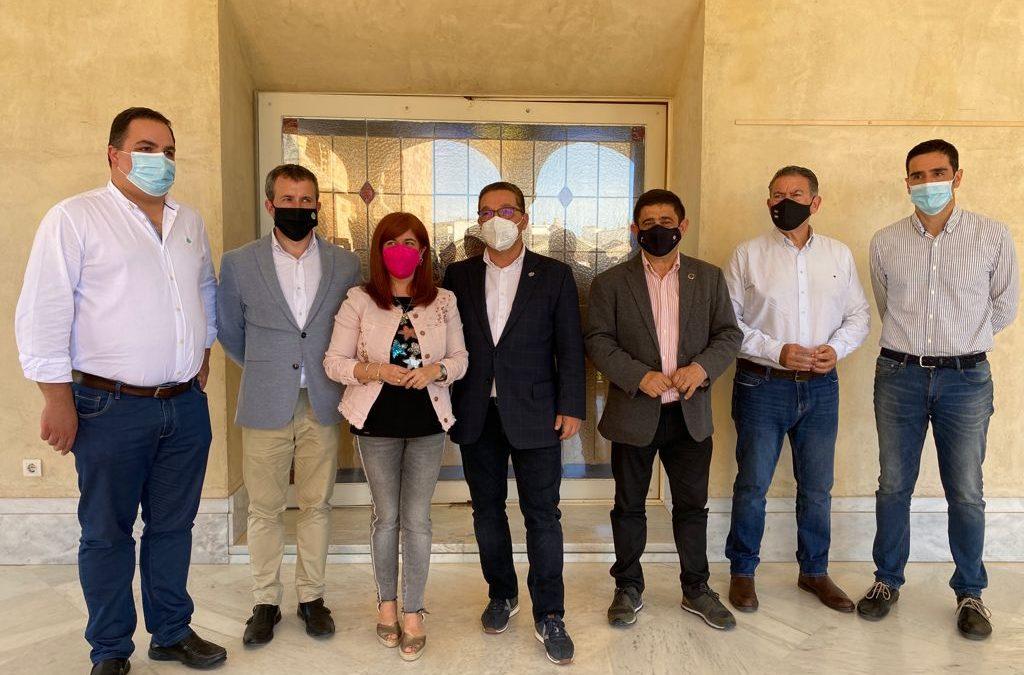 Diputación y municipios de más de 20.000 habitantes trabajan en un decálogo de propuestas necesarias para la provincia de Jaén