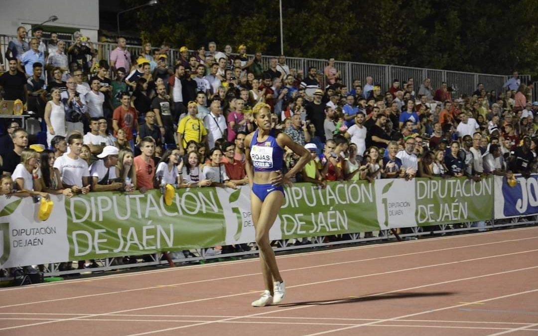 Yulimar Rojas se queda a siete centímetros del record mundial