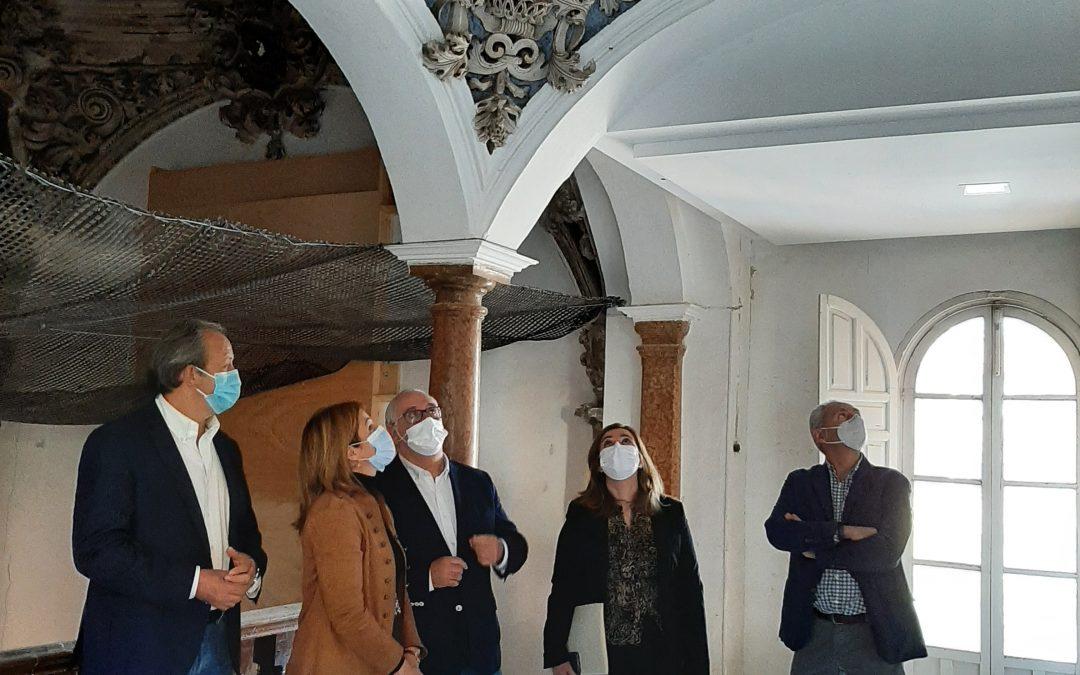 Autorizada la intervención en las cúpulas barrocas del Hospital Municipal de Andújar