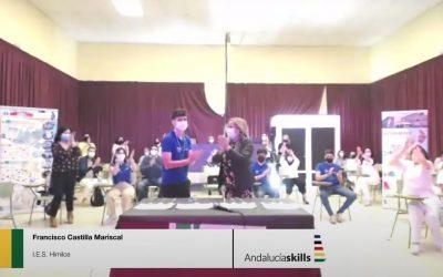 """Medalla de Plata para Alcaudete en las """"Olimpiadas de FP"""""""