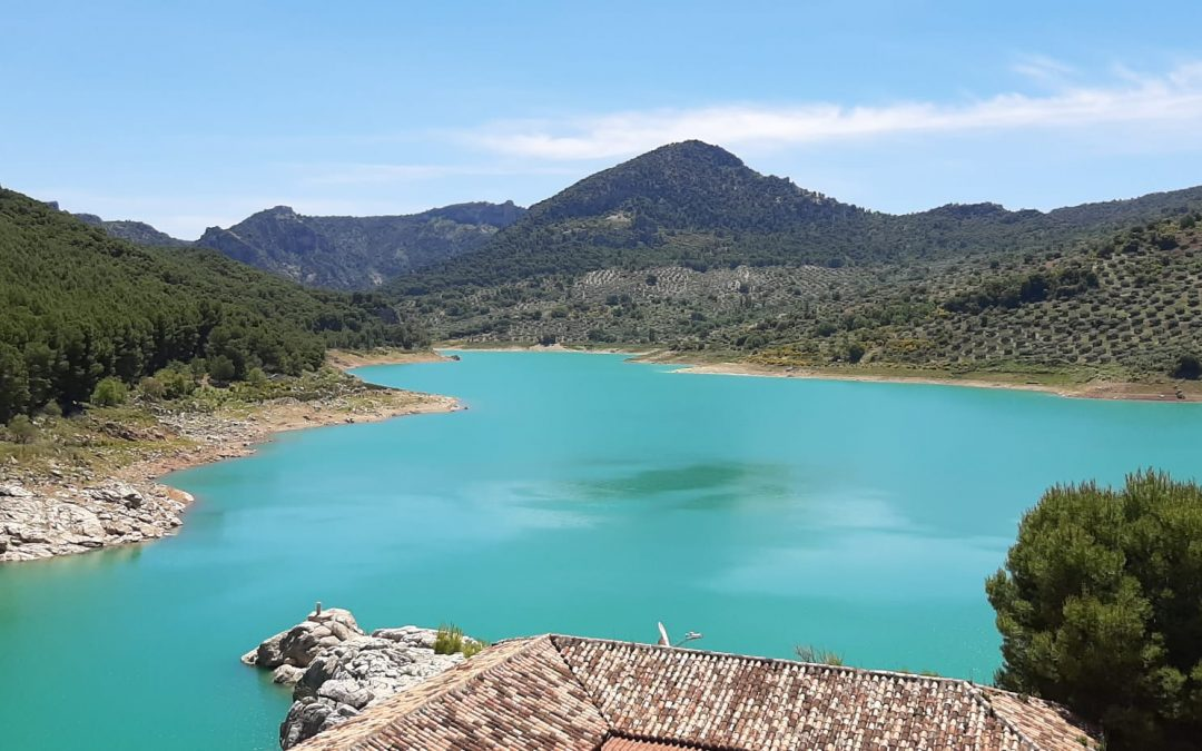 La CHG adjudica las obras de acondicionamiento de los desagües de la presa del Quiebrajano