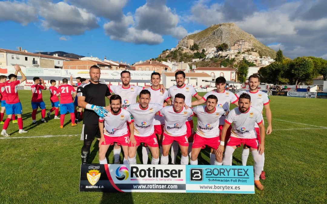 El Martos ya es finalista de la Copa Subdelegada