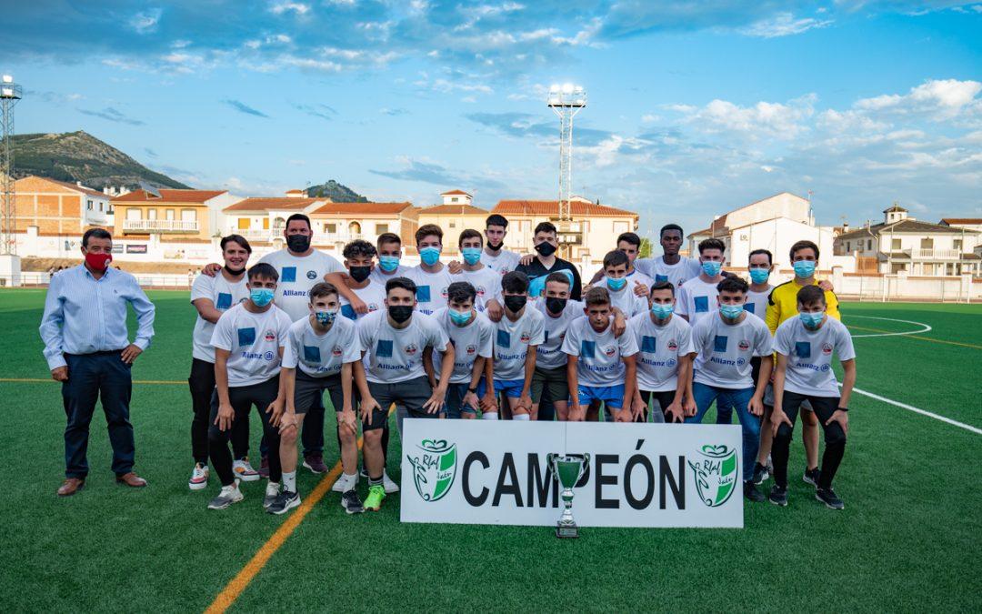Los campeones del CDV Alcaudete consiguen el ascenso