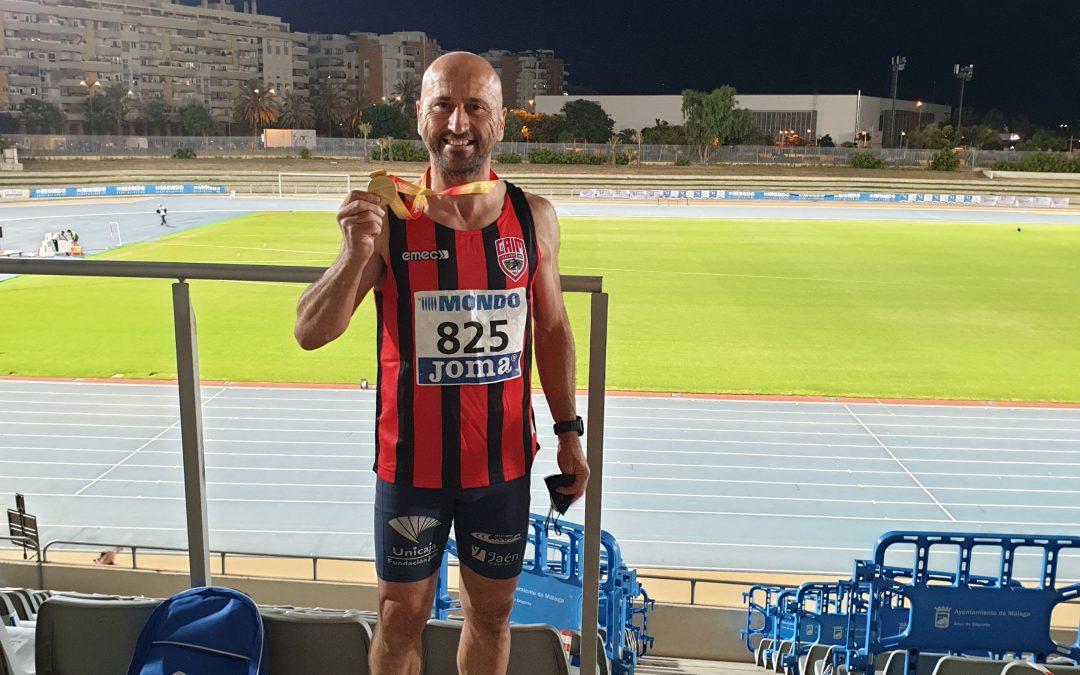 Juan Martos se cuelga el oro en el Campeonato de España Master de Atletismo