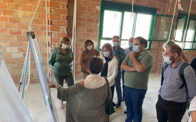 Avanzan las obras de ampliación del Centro de Salud de Martos