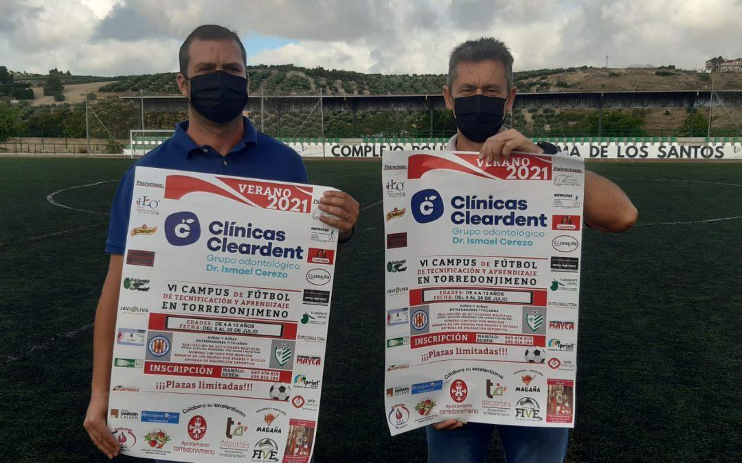 El Campus de Fútbol de la UD Ciudad de Torredonjimeno vuelve tras un año de ausencia