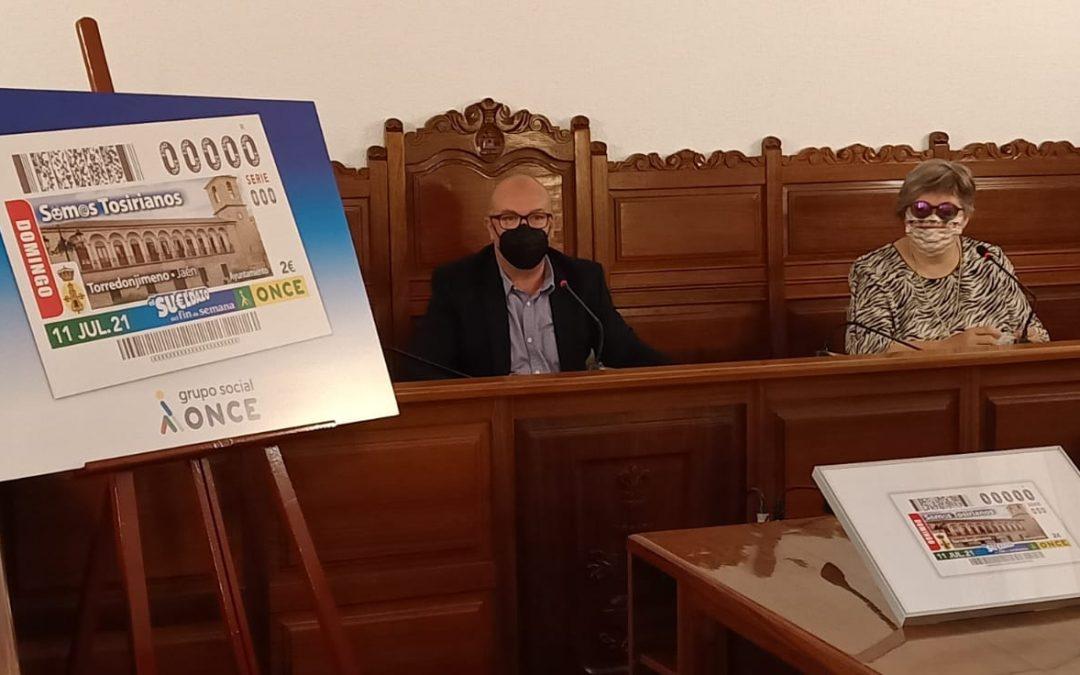 Torredonjimeno estará presente en cinco millones y medio de cupones de la ONCE