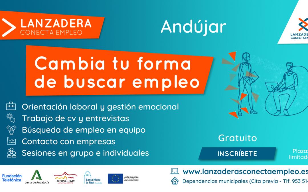 Últimos días para apuntarse a la nueva  Lanzadera Conecta Empleo de Andújar
