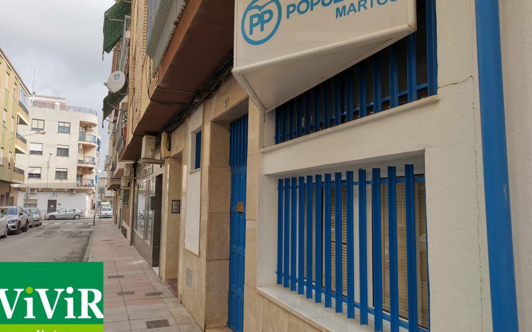 """El PP de Martos muestra su preocupación """"por la irresponsable gestión"""" del equipo de Gobierno"""