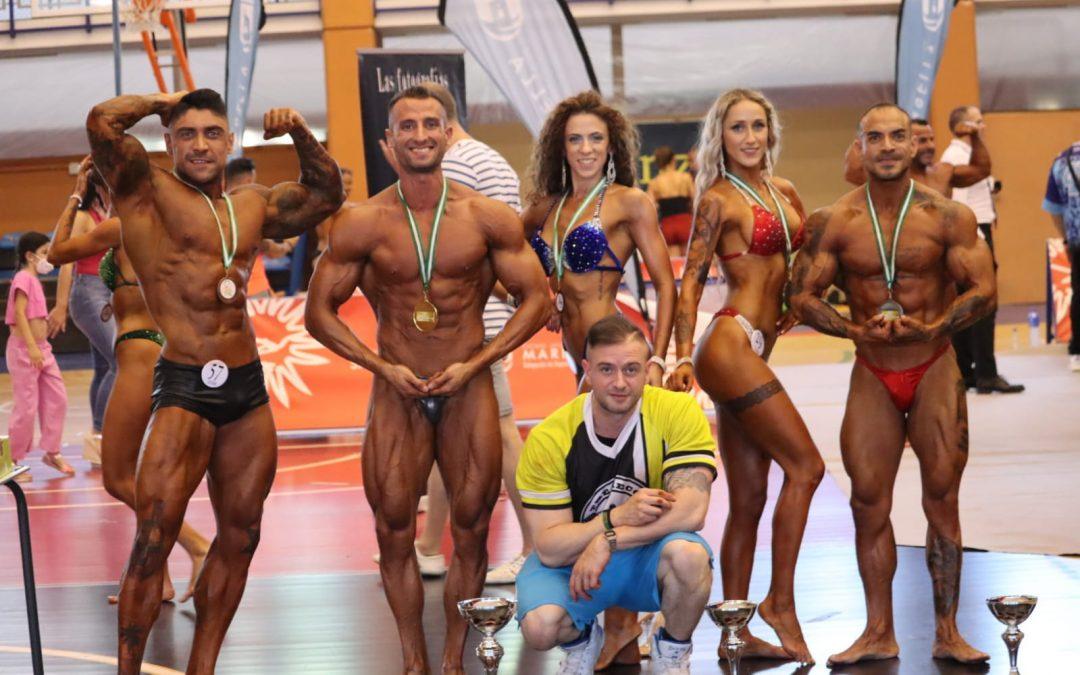 Triunfo linarense en el Campeonato Andaluz de Culturismo